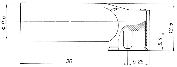 Adapter DIN ISO 530 1460