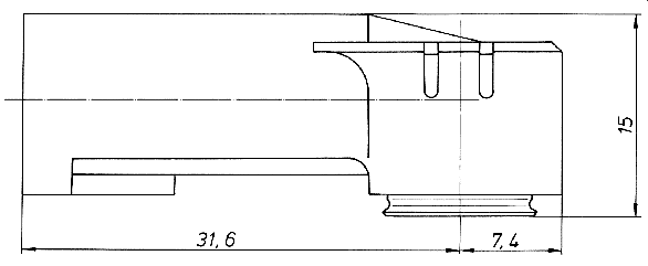 Adapter DIN ISO 530 1465