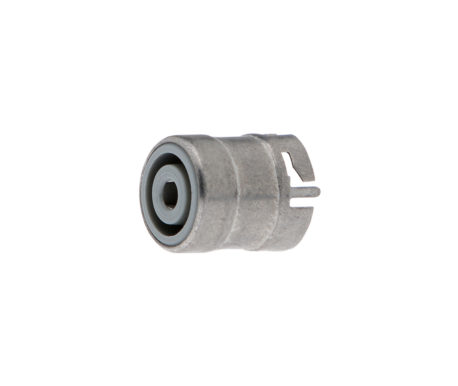 Female plug for mounting plate-Device side connector