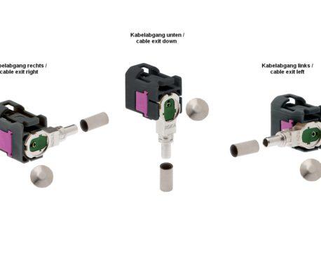Winkelkuppler fix Low-Loss 3.3-ROKA 520 87x G