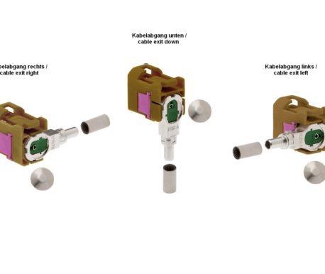 Winkelkuppler fix Low-Loss 3.3-ROKA 520 87x K