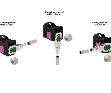 Winkelkuppler fix RG 174-520 87x A